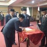 Pelantikan Sekda Banjar Mokhammad Hilman