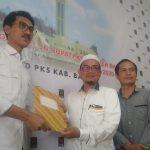 H Saidi Mansyur pelamar pertama di PKS Kabupaten Banjar