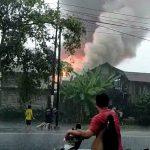 Kebakaran terjadi di Pasar Batuah Banjarmasin