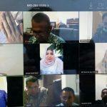 Banmus DPRD Kalsel Rapat Melalui Tele Conference