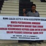 Aksi Demo Di DPRD Banjar